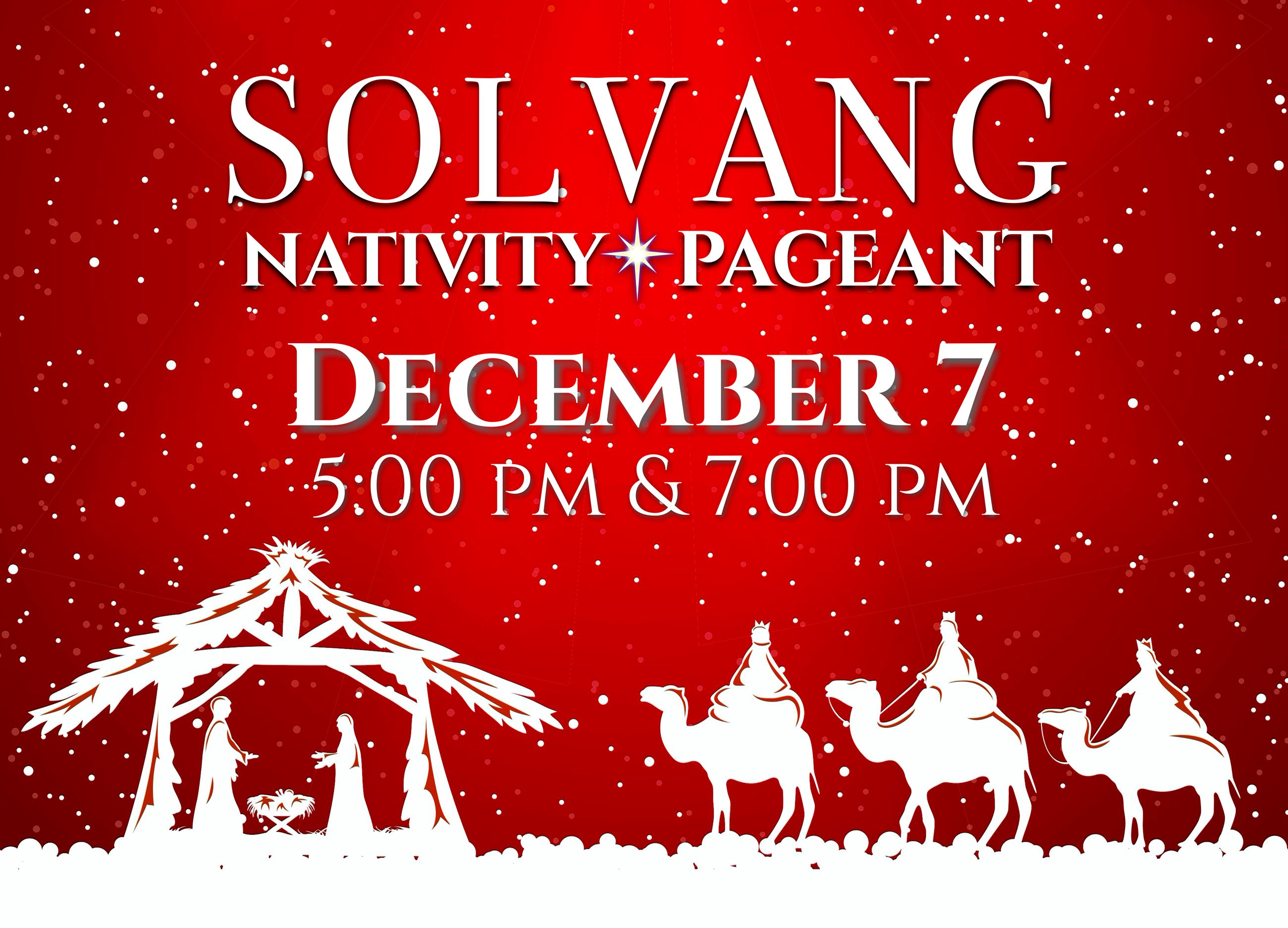 2019 Solvang Nativity Pageant