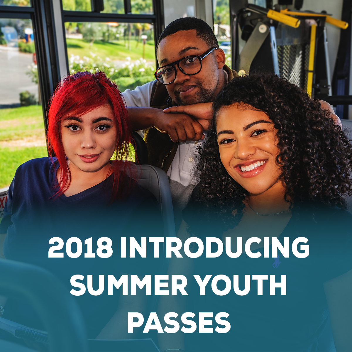 Newsletter graphic_May 2018 introducing summer youth passes