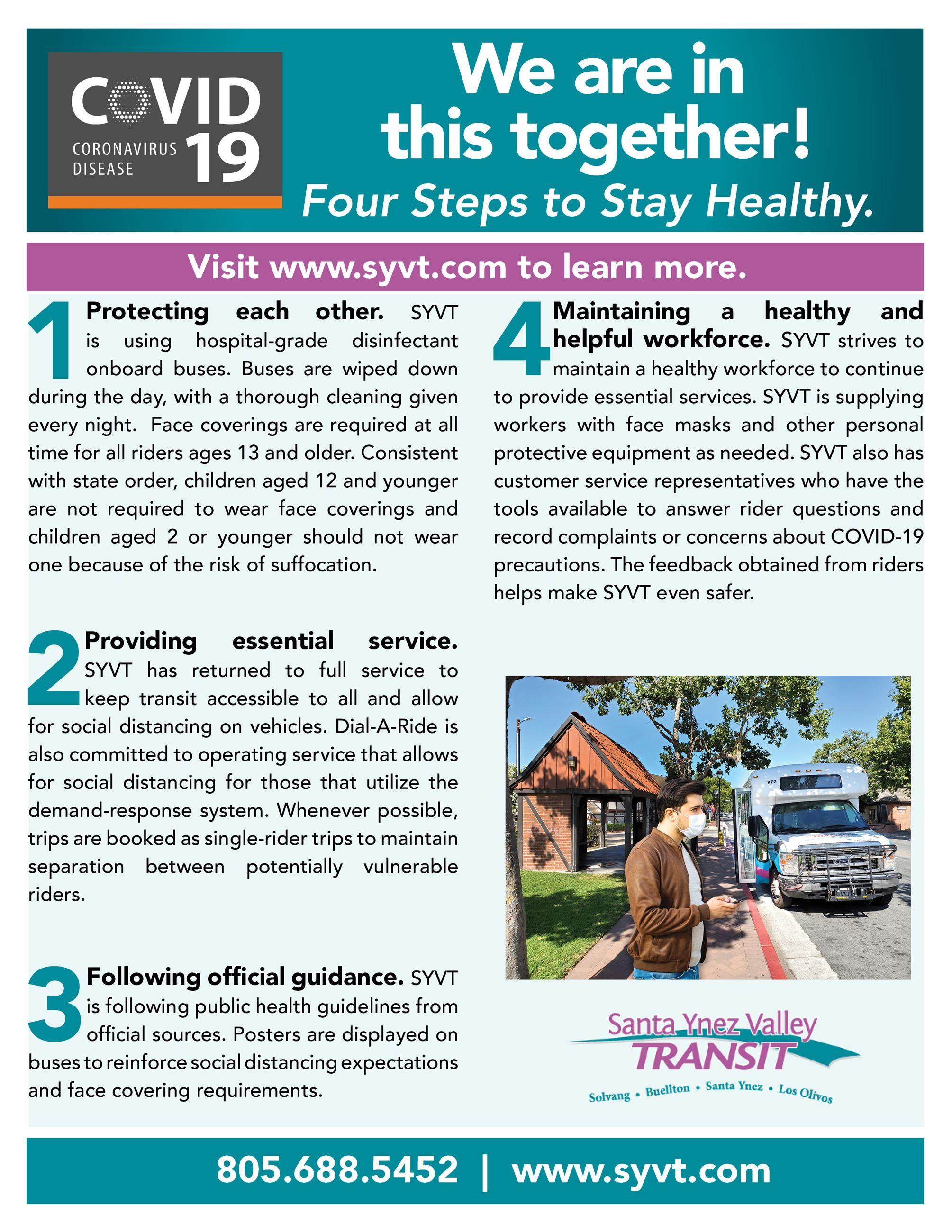 SYVT - We Are in This Together - 4 Step Plan To Keep You Safe